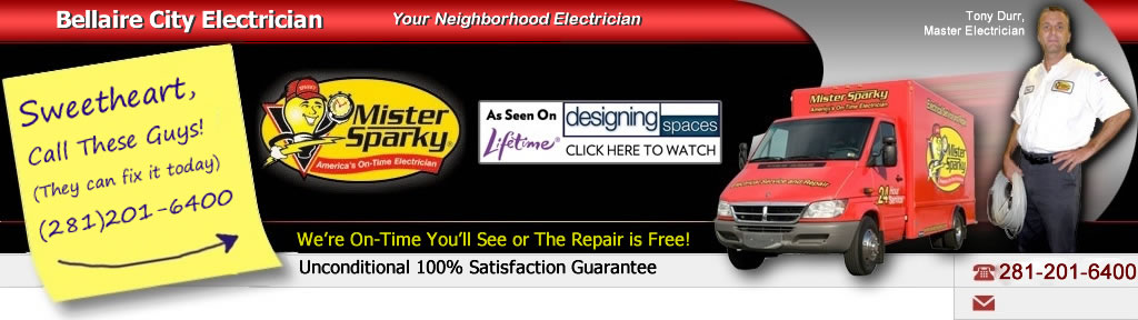 Bellaire Electrician Header